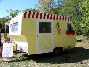 Sisters on the Fly camper